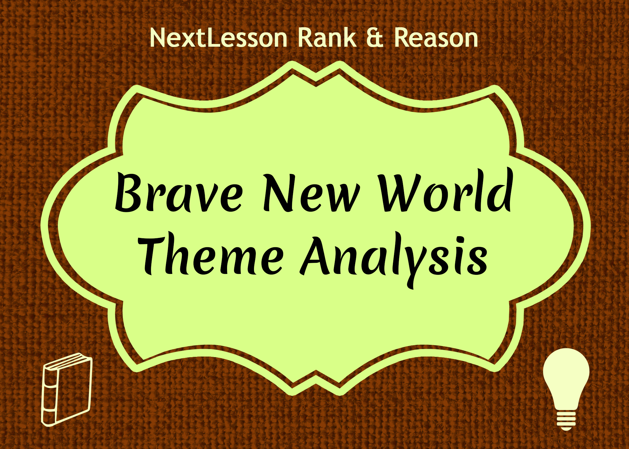 brave new world theme analysis Search results for brave new world theme analysis.
