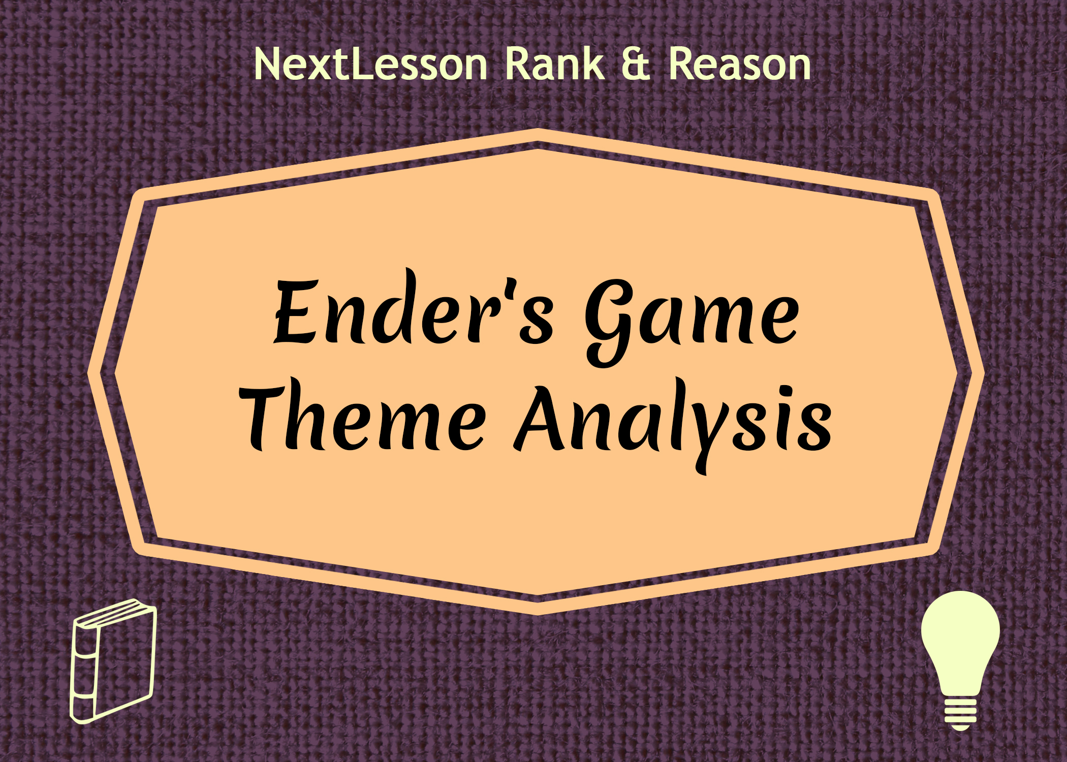 analyzing the major theme in a Writers express their insights about humanity in a theme, which is a central or underlying idea read and analyze a work to identify the theme.