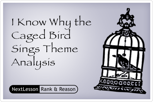 thesis of i know why the caged bird sings 2015-11-26  thesis i know why the caged bird sings by maya angelou is written through a post-colonial perspective as shown through the binary system,.