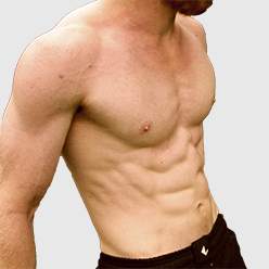 6-pack abs, get an athletic core,