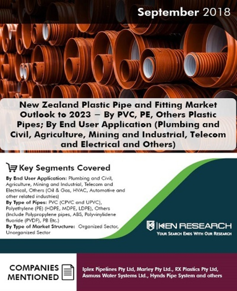 New Zealand Plastic Pipe and Fitting Market Outlook to 2023: Ken