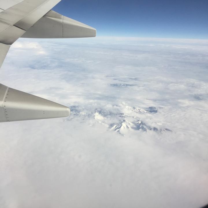 Somewhere over Utah