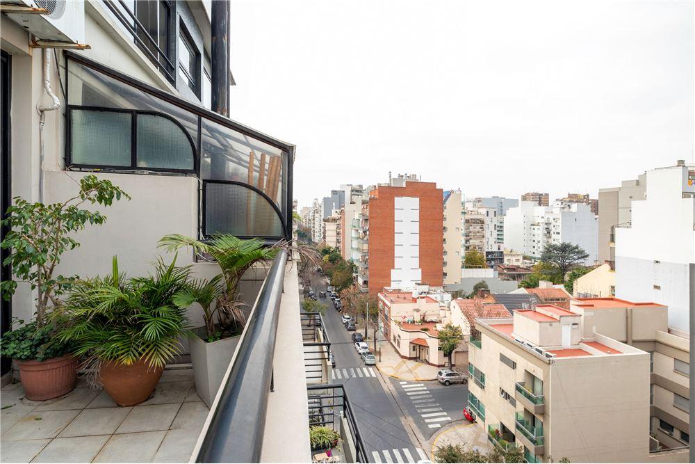 Balcón Aterrazado frente