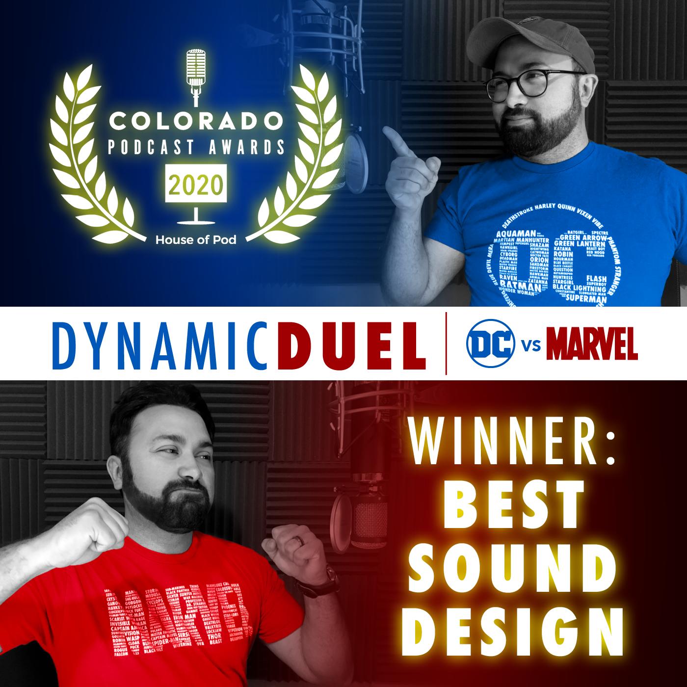 Winner of Best Sound Design 2020
