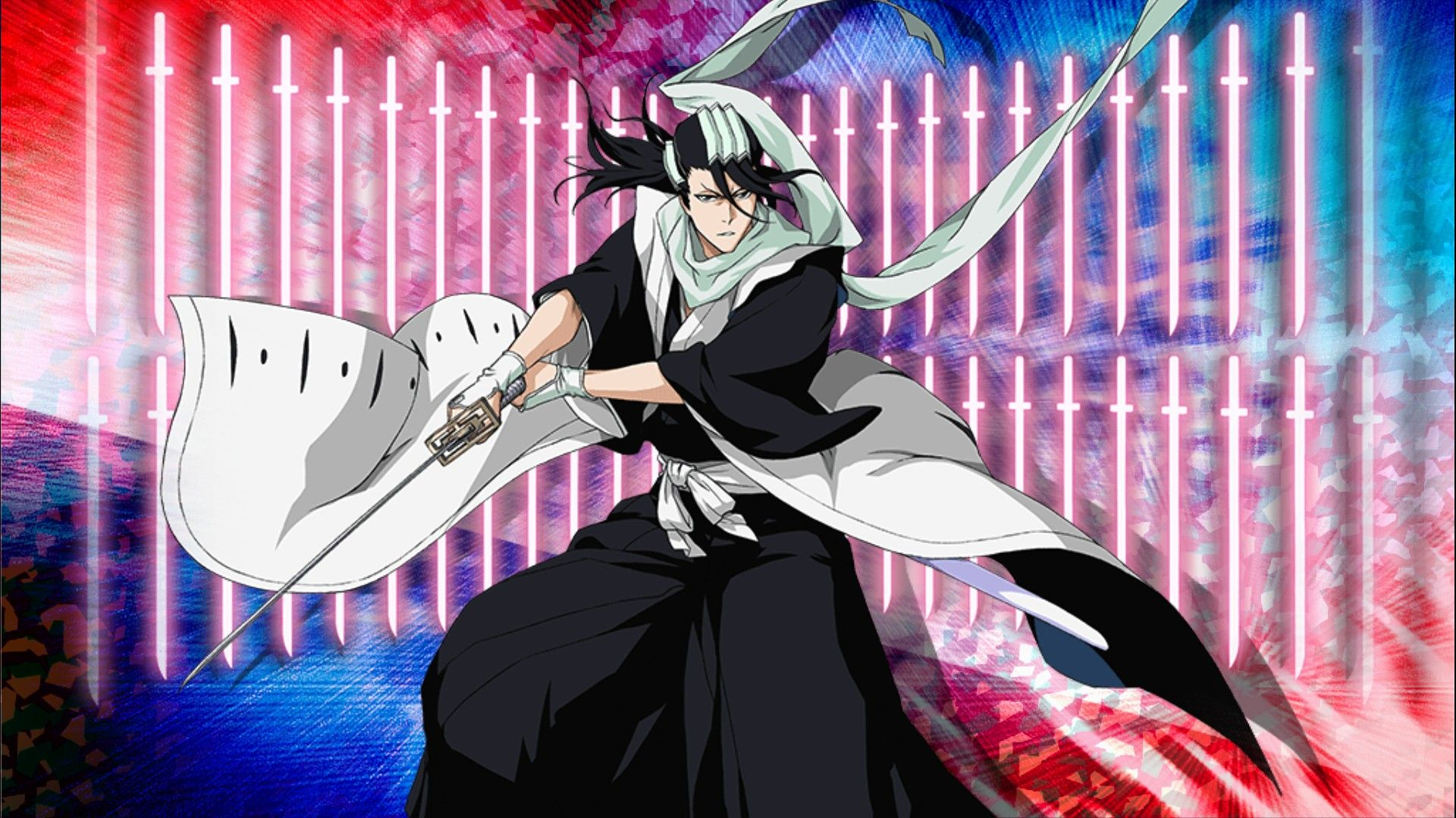 Byakuya's Bankai Senbonzakura Kageyoshi