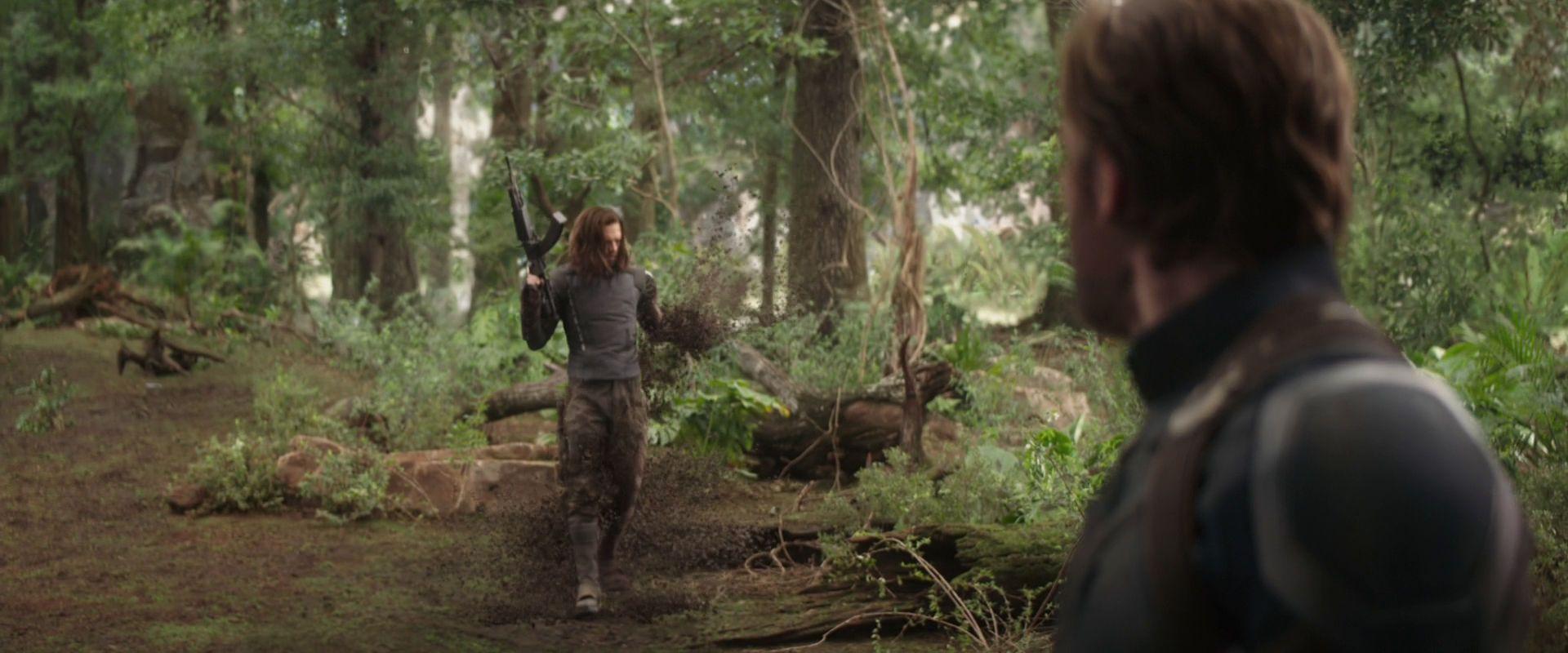 Avengers Infinity War Bucky Steve