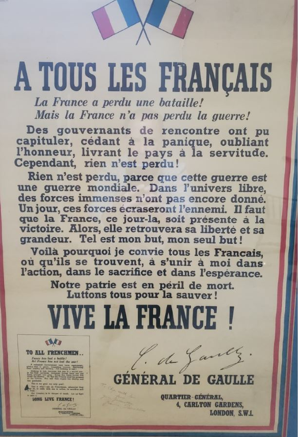 French Poster ww2