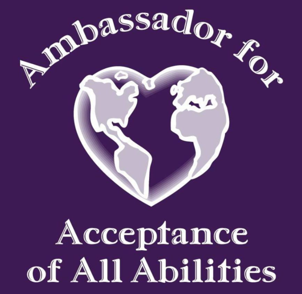 Ambassador for Acceptance of All Abilities Logo