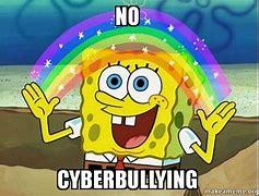 Spongebob says No Cyberbullying.