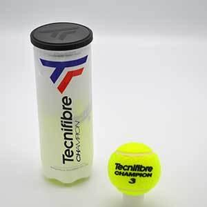 Tecnifibre Champion Tennis Balls