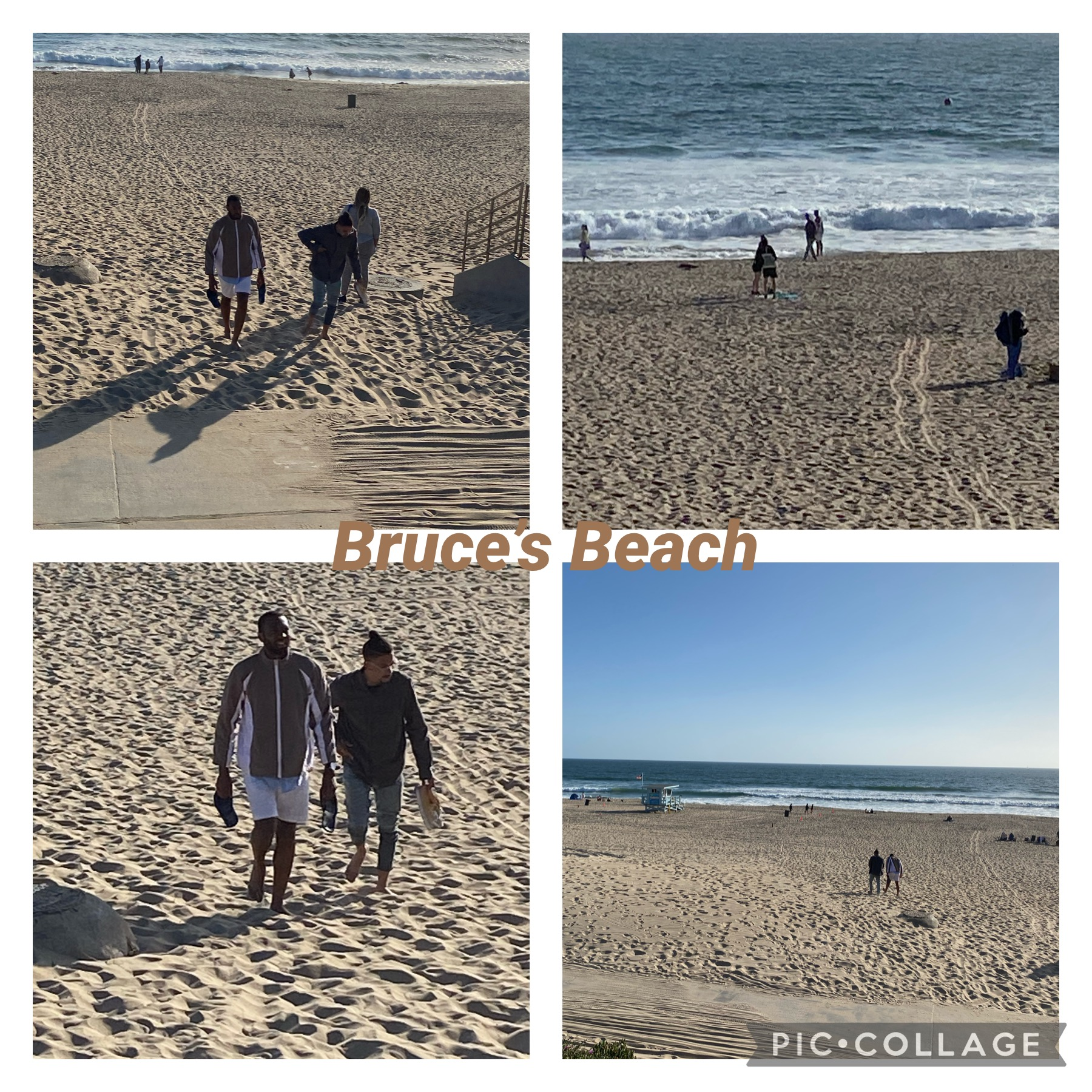 Bruce's Beach was a beach resort in the city of Manhattan Beach, that was owned by and operated for African Americans. It provided the African American community with opportunities unavailable at other beach areas because of racial segregation.