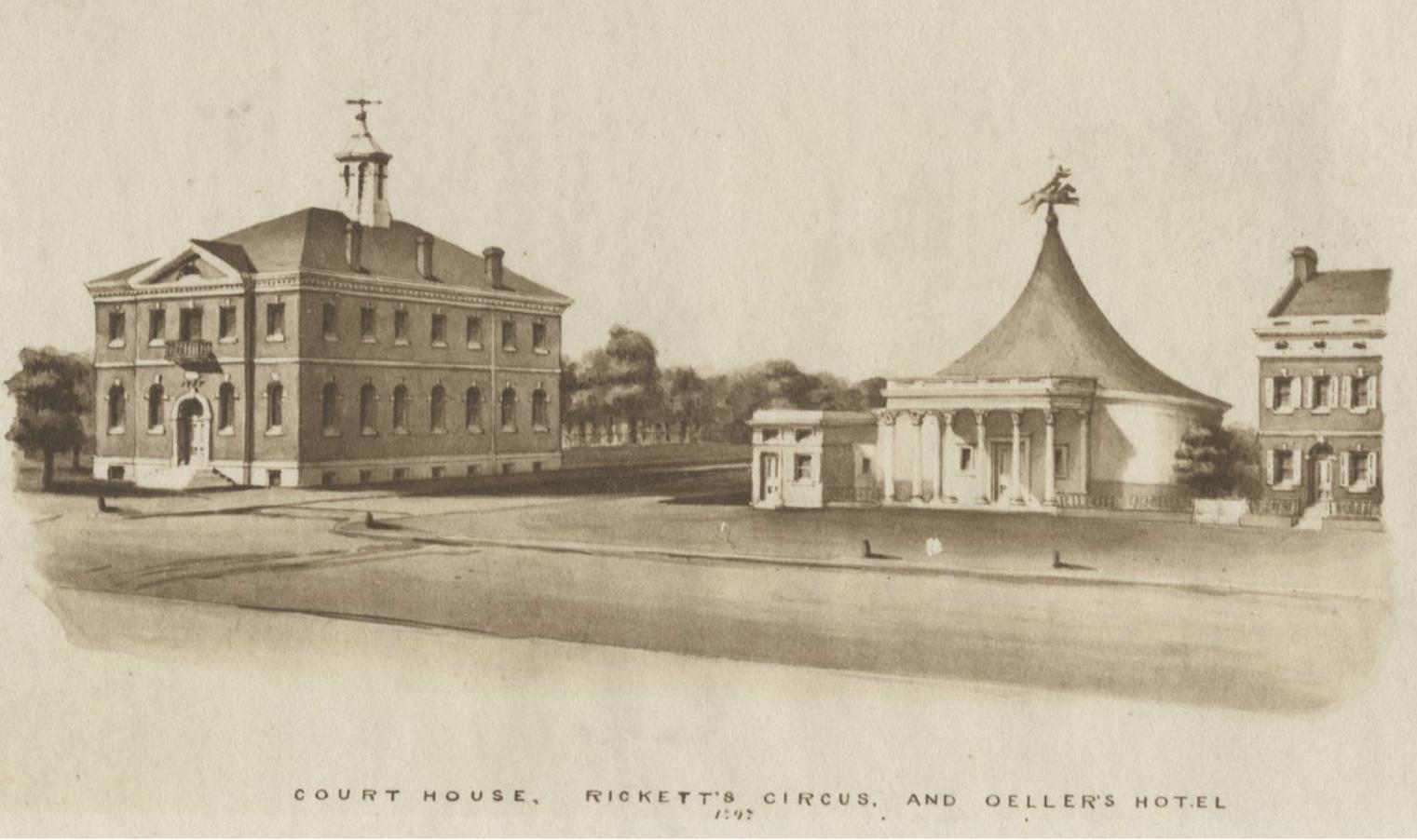 Ricketts Circus and Art Pantheon 1797