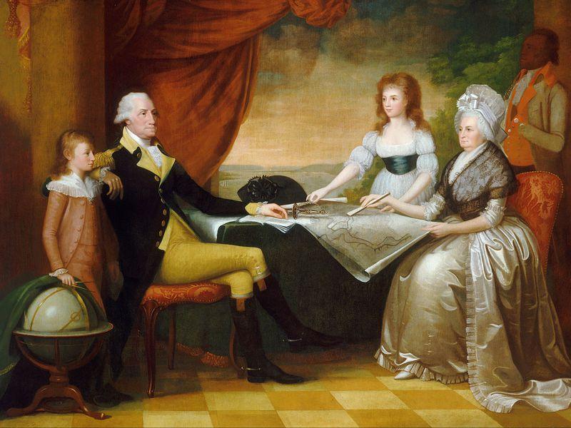 Washington and family
