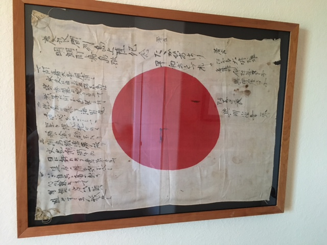 Japanese flag from WW2