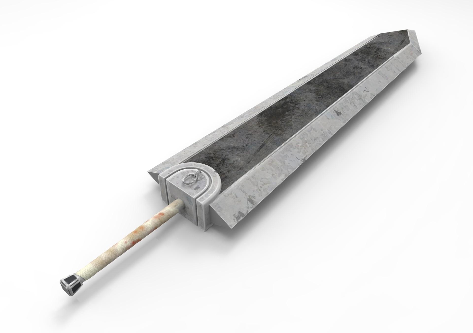 Guts Beserk Dragon Slayer sword