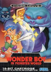 Wonder Boy in Monster World Mega Drive PAL cover