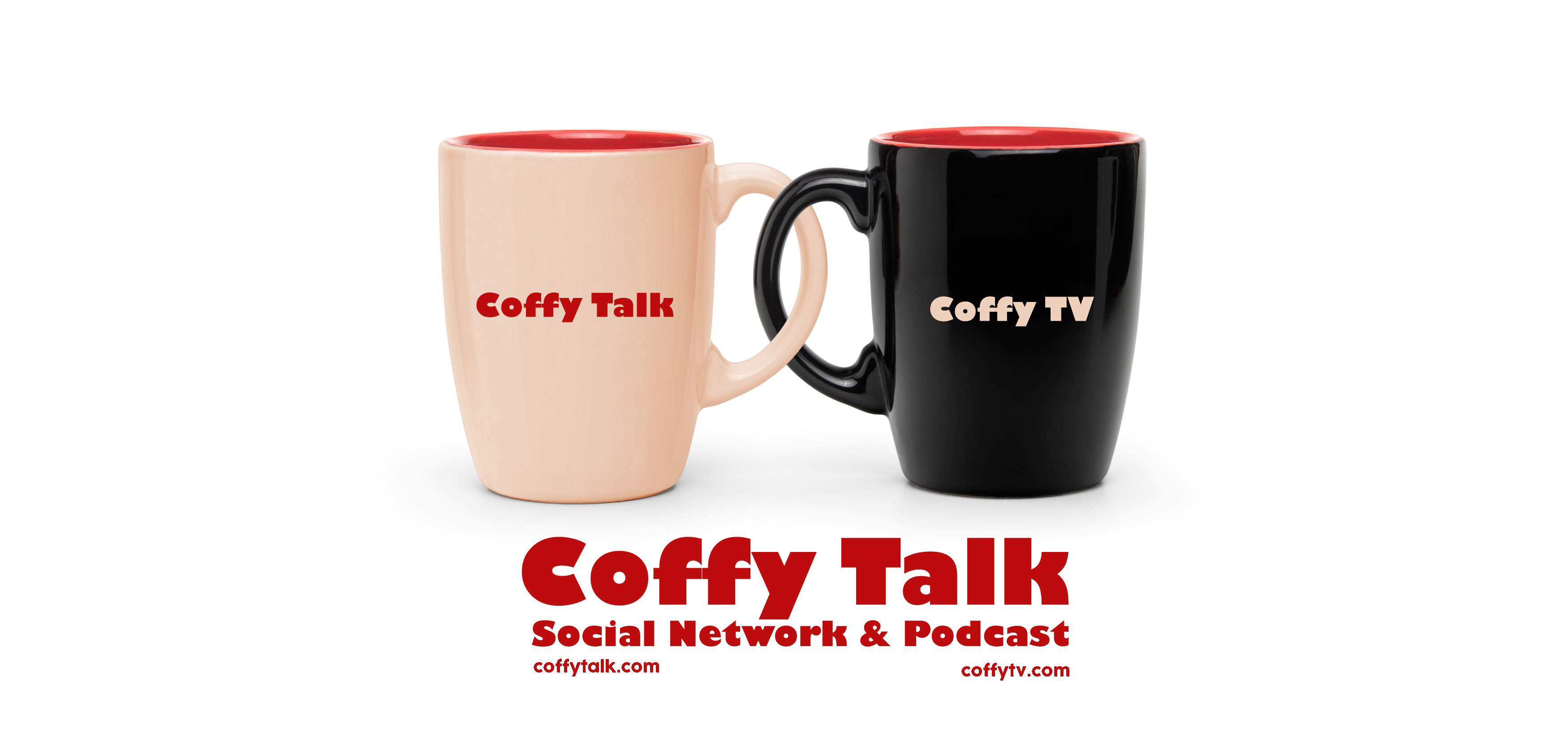 Coffy Talk & Coffy TV Banner Logo