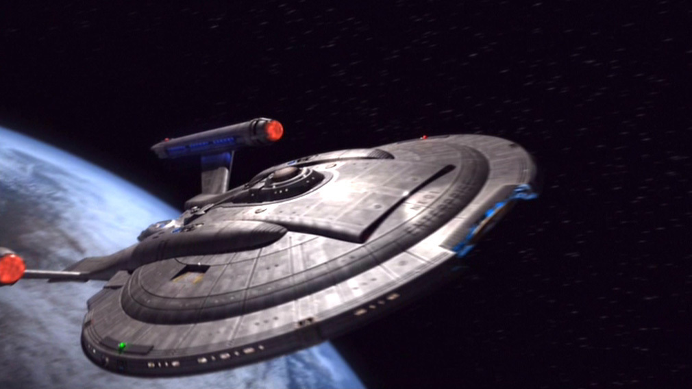 Enterprise NX-01 from opening credits