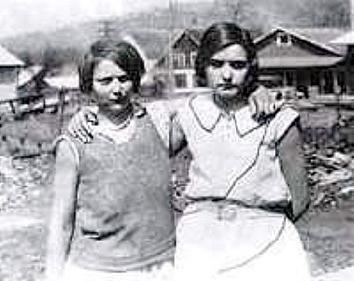 Ruby Bates and Victoria Price