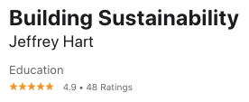 Building Sustainability Itunes Reviews