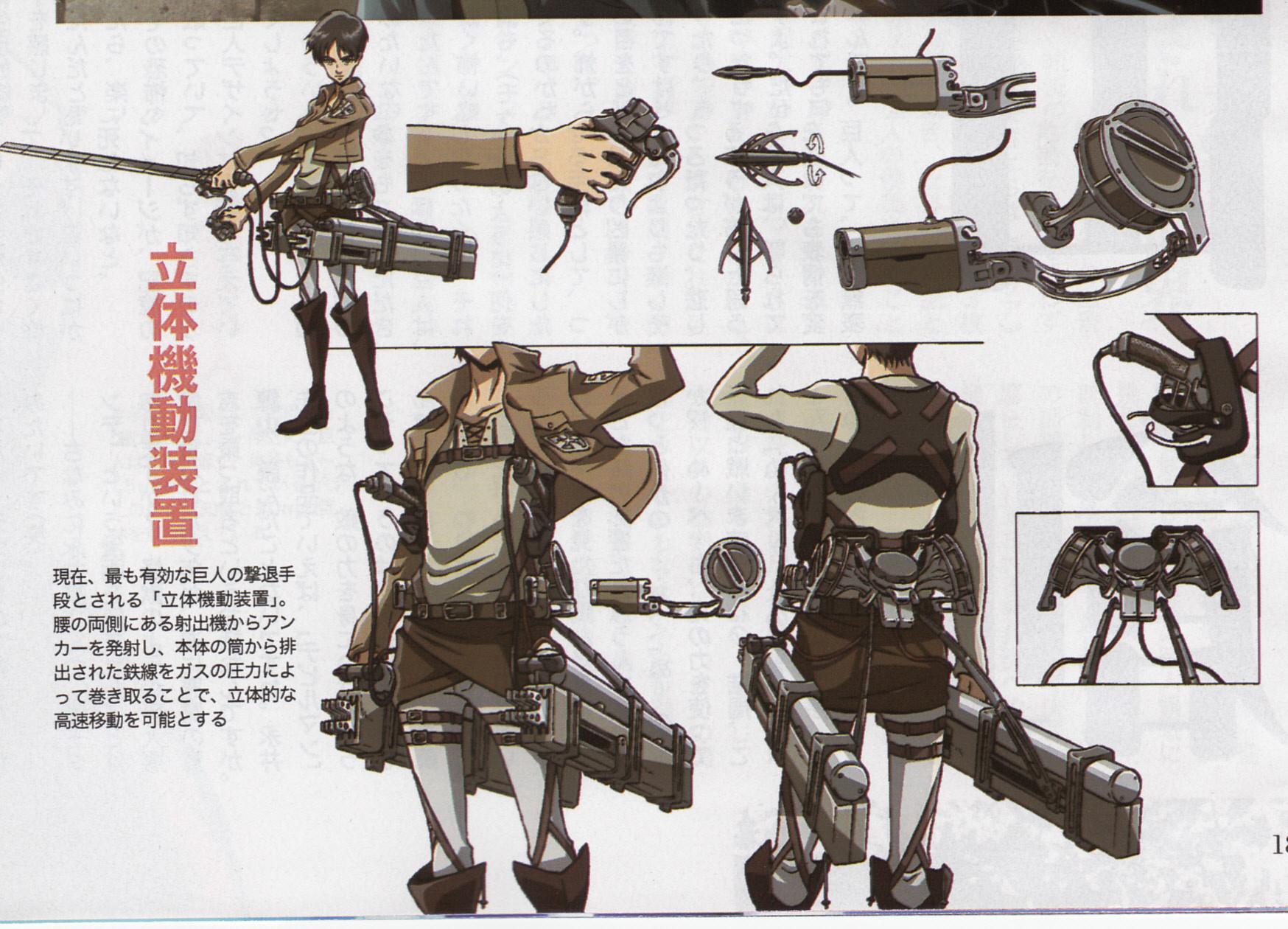 Attack on Tita 3D Maneuver Gear