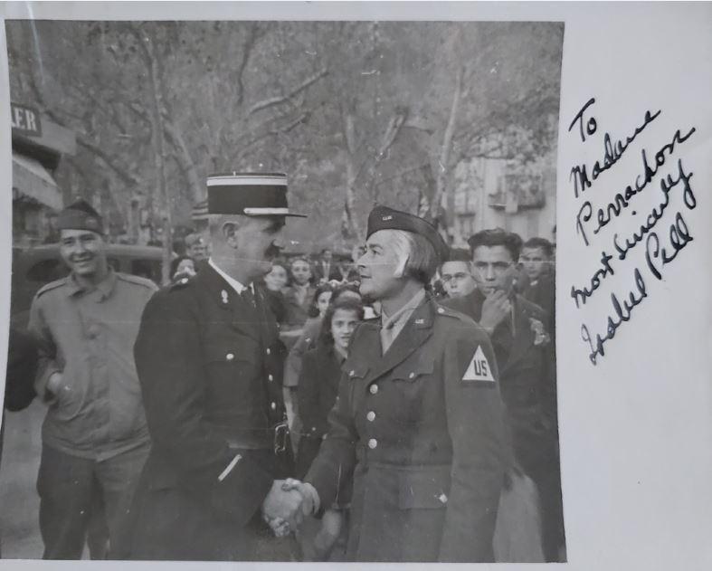 Isabel Pell WW2