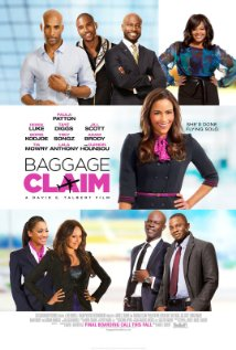 movie poster for the film Baggage Claim