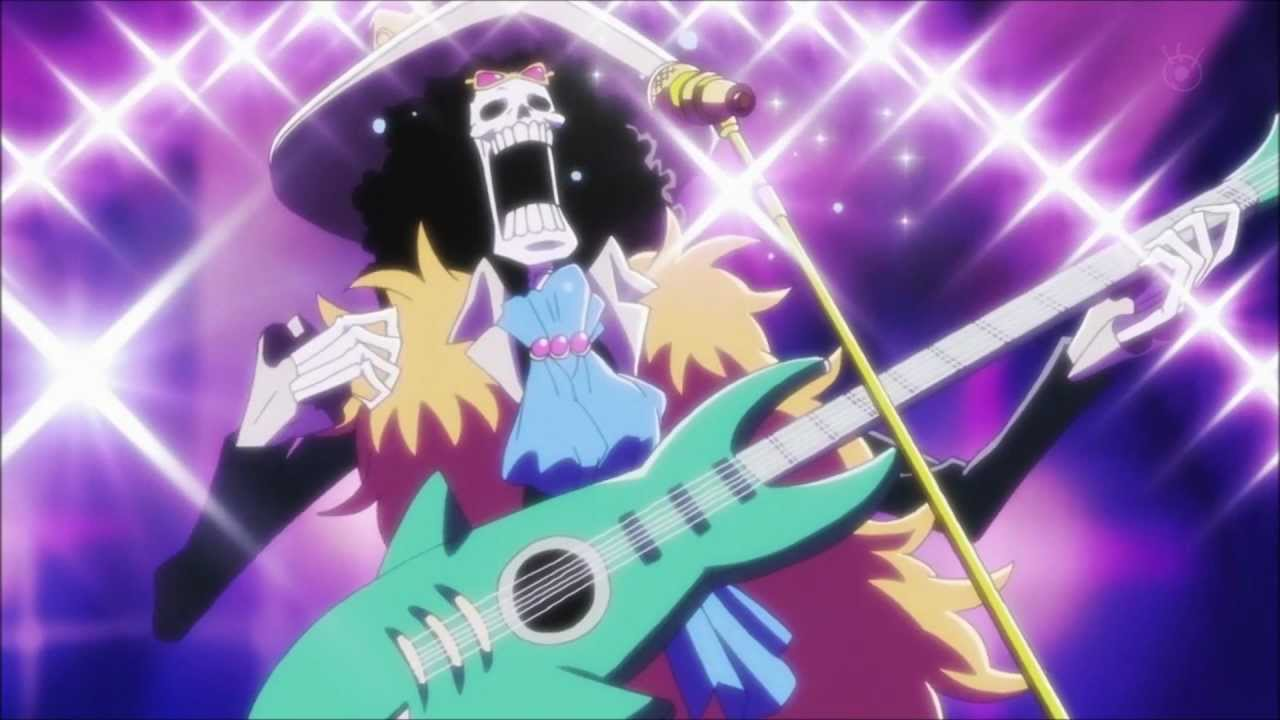 One piece intro and Brooke singing