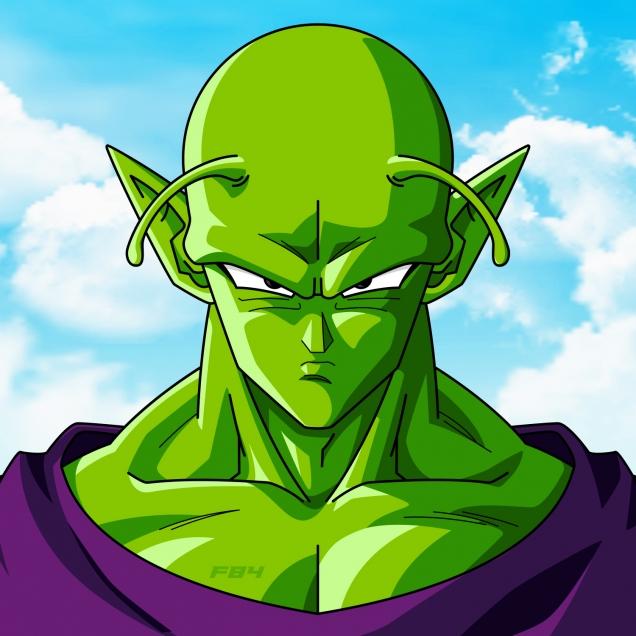 Piccolo as Power Forward NBA Anime Finals