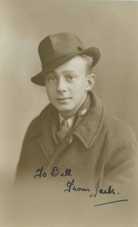 Second world war comrade jack spooner