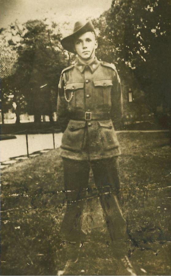 Les Cook Australian veteran of Burma second world war