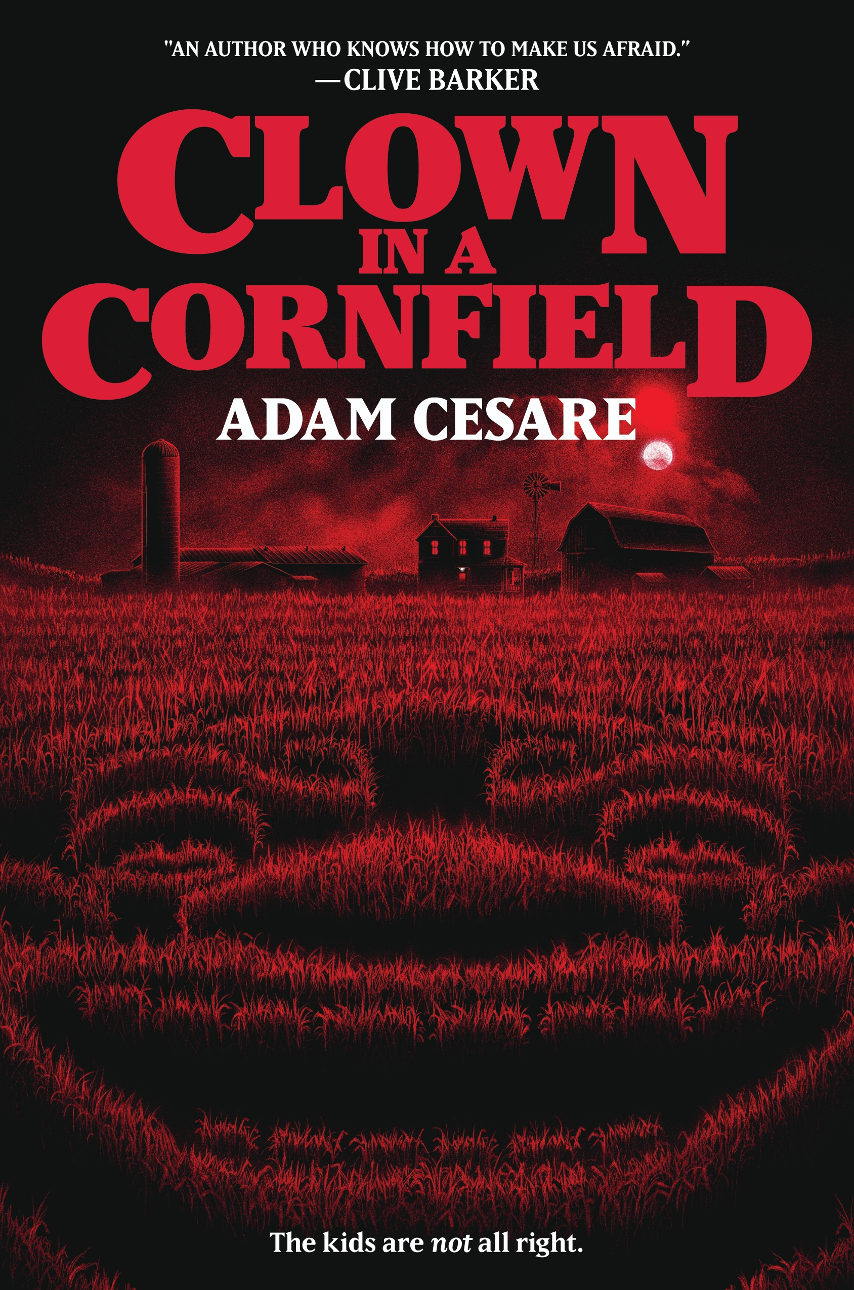 Clown in a Cornfield Adam Cesare