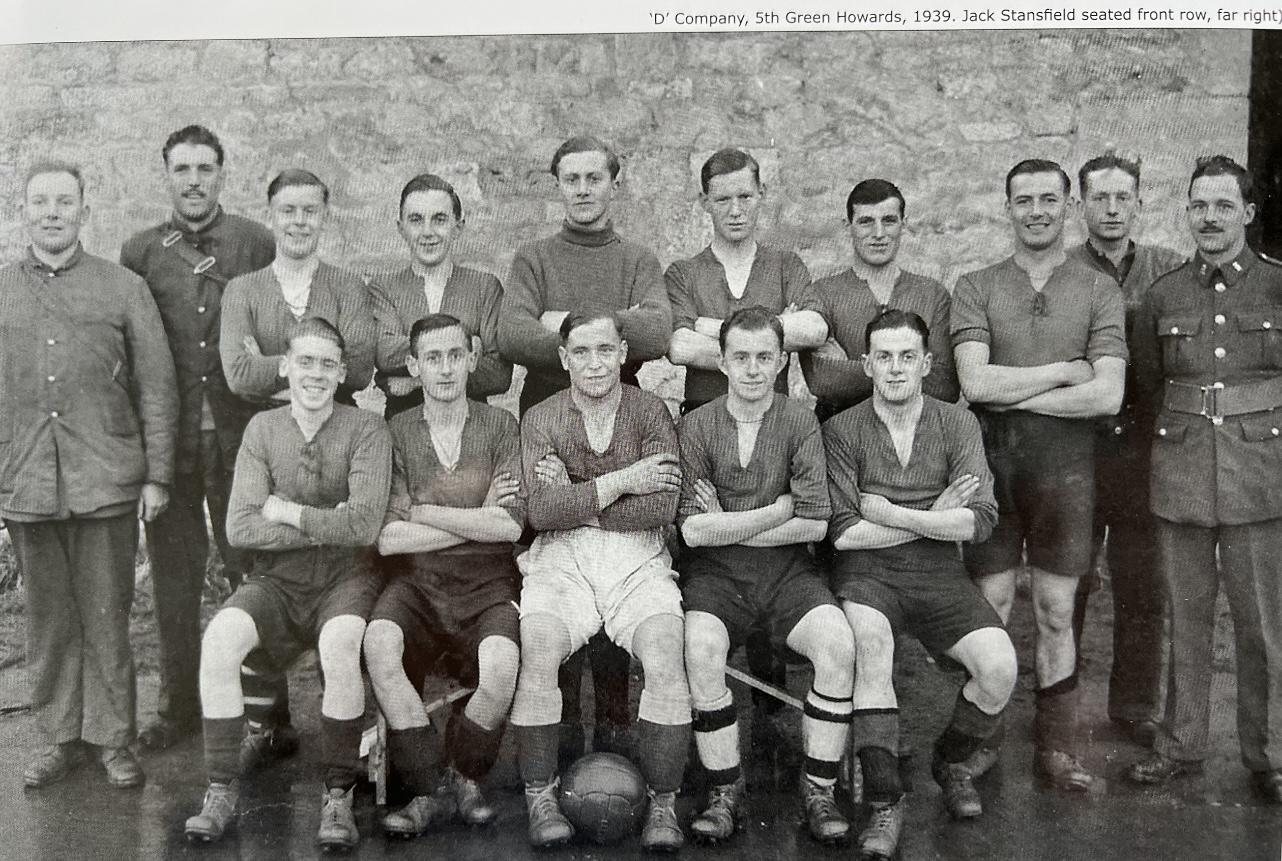 D Company 5th Green Howards 1939