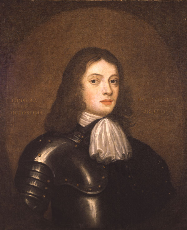 William Penn as a young man