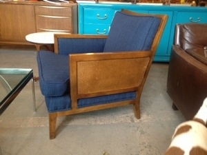 Club Chair 1950s restored