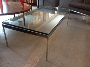 Zographos Coffee Table glass and chrome