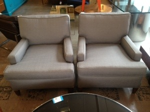 Club Chairs refurbished