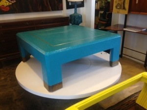 Karl Springer Lacquered Coffee Table