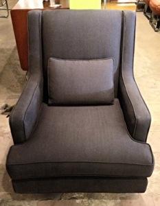 Dunbar Gray Reupholstered Chair