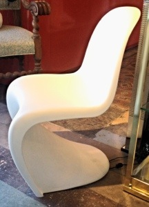 Verner Panton for Vietra White Chairs (pair)