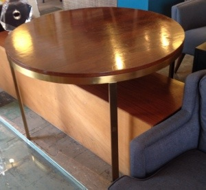 Milo Baughman Style Dining Table