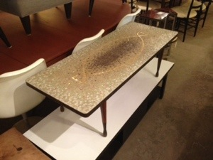 Genaro Alverez Mosaic Coffee Table