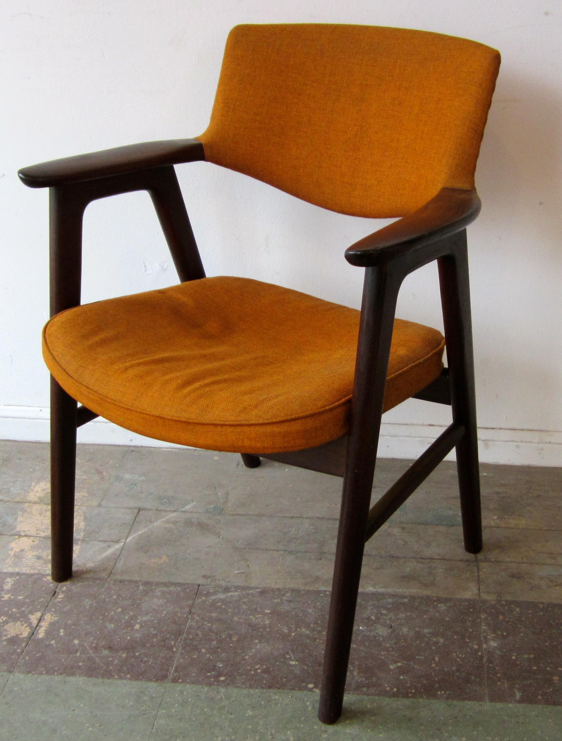 Erik Kirkegaard Arm Chair Rosewood | Reeves Antiques | Mid-Century ...