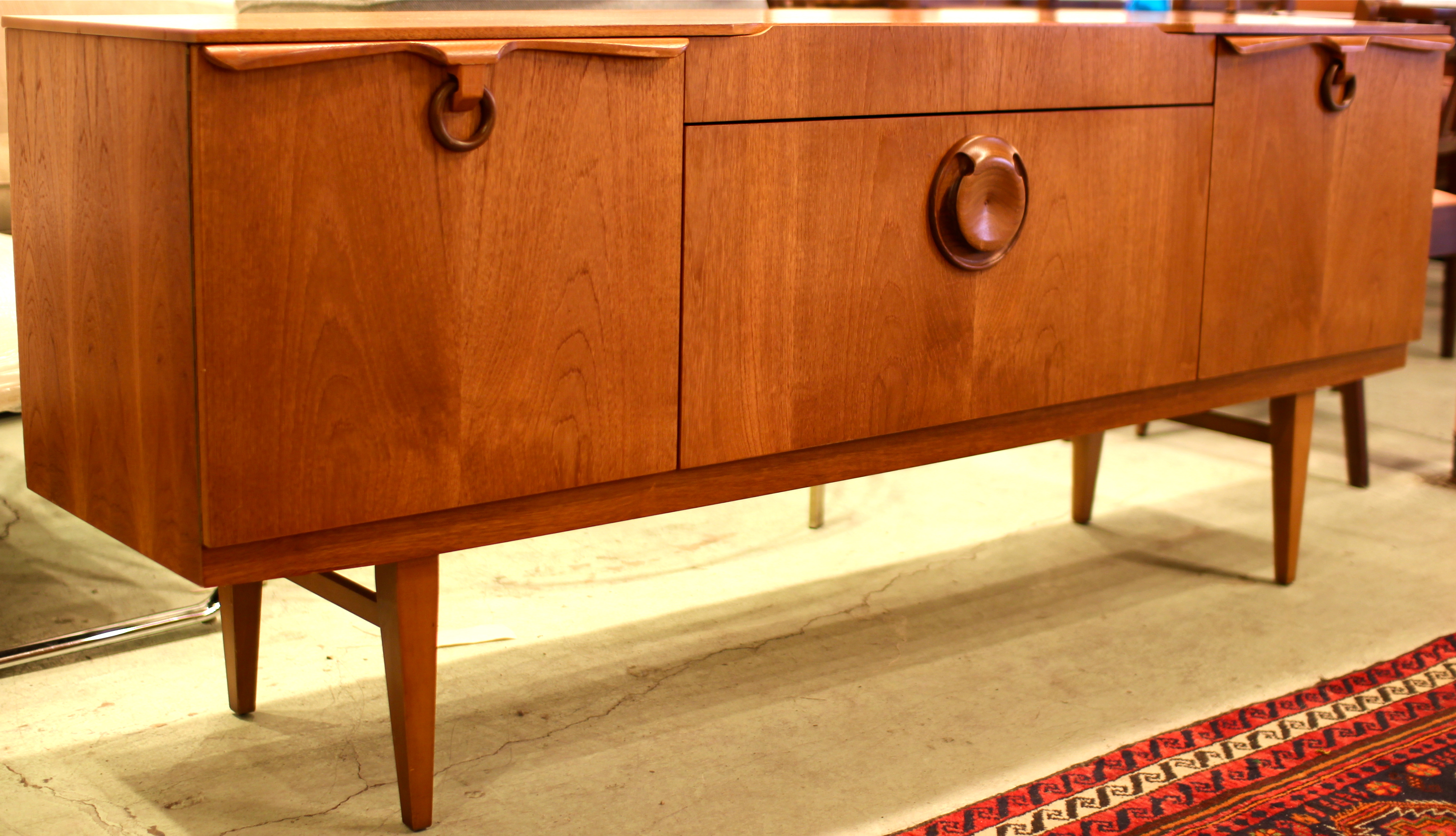 Streamline Style Credenza Mid Century Modern Furniture