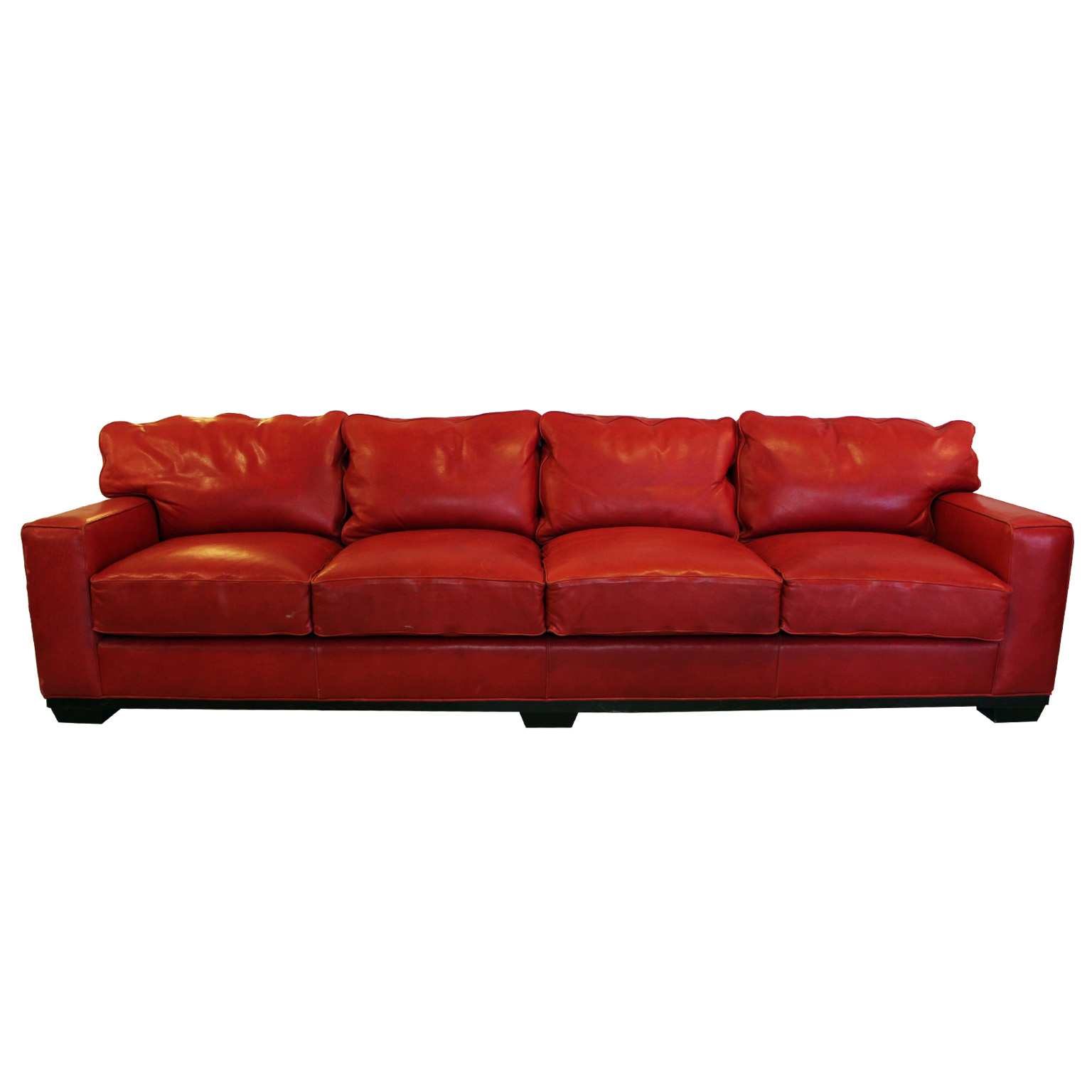 Texas Leather Sofa Bed