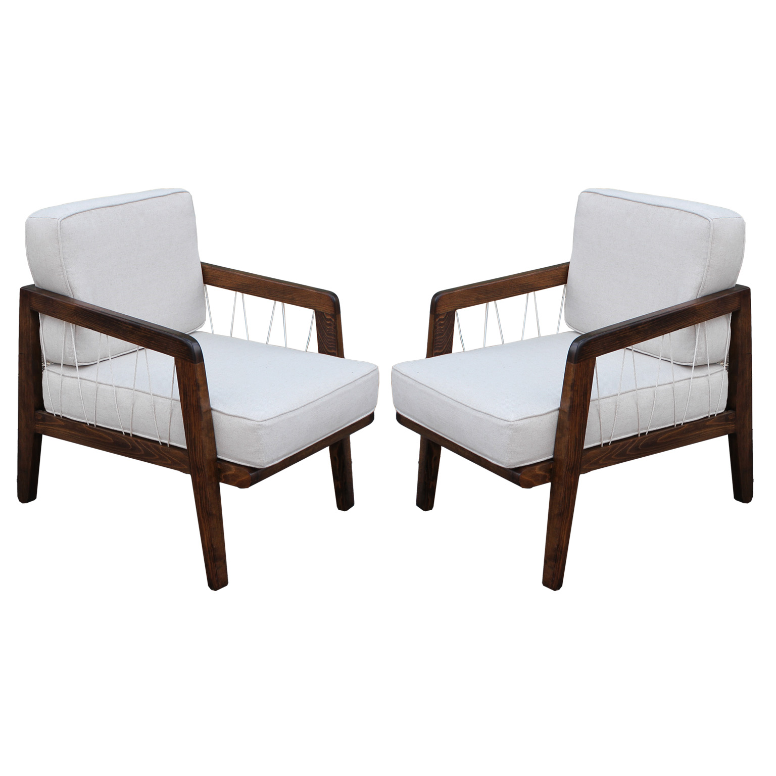 Edward wormley for drexel lounge chairs - Edward wormley chairs ...