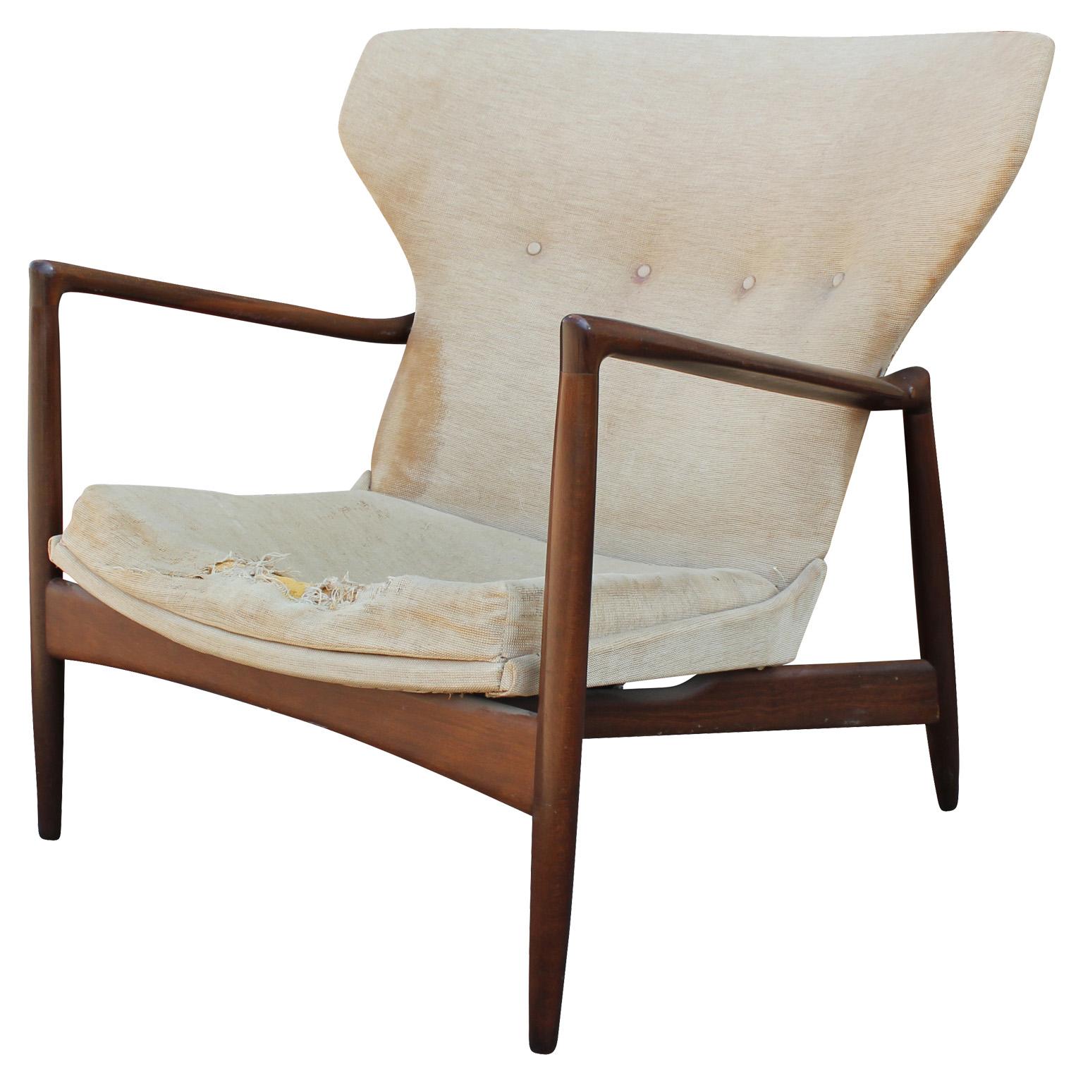 Rare Sculptural Wingback Lounge Chair by Ib Kofod Larsen : kofod2 from www.reevesantiqueshouston.com size 1536 x 1536 jpeg 370kB