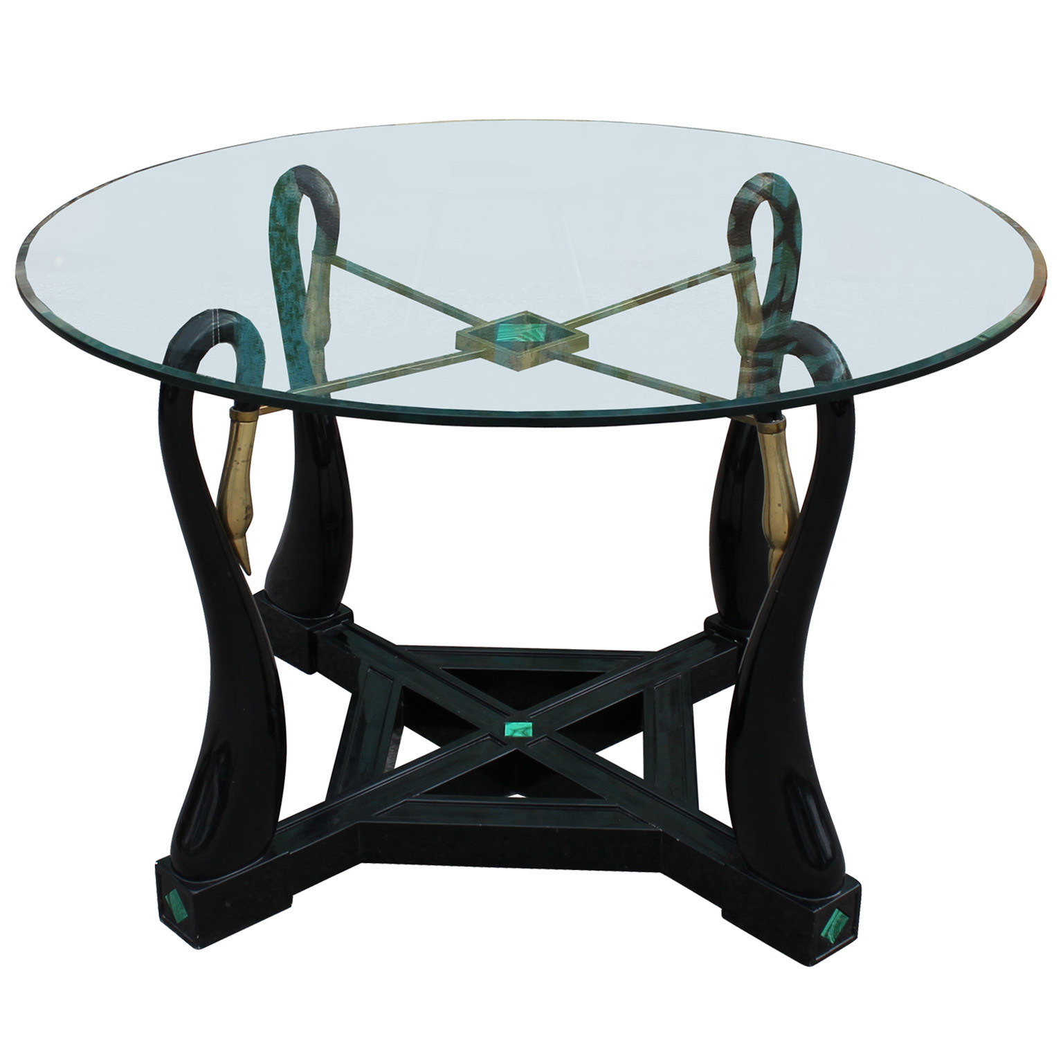 Kittinger Coffee Table Images Kittinger Dining Table  : swan table7 from www.favefaves.com size 1536 x 1536 jpeg 242kB