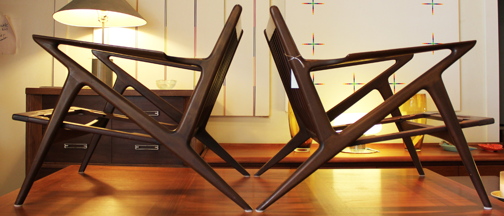 Z Chairs By Poul Jensen For Selig