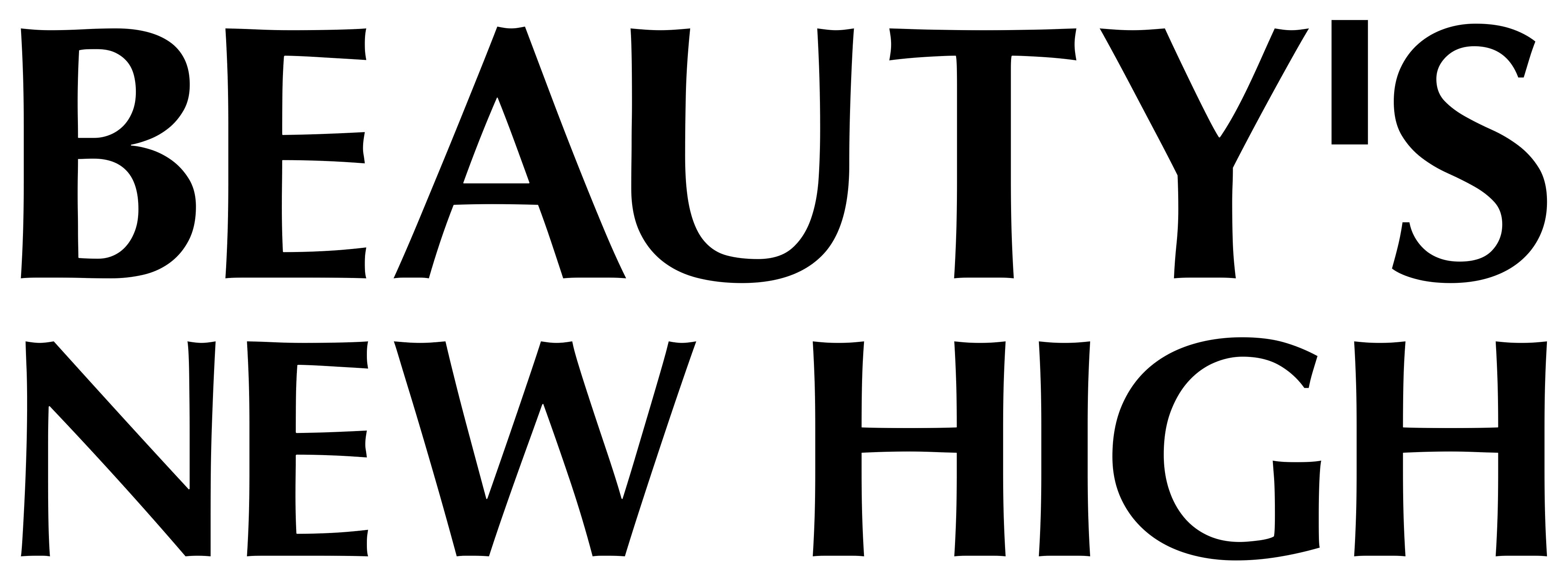 Beauty's New High